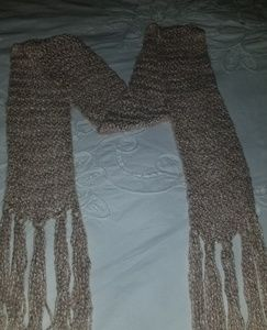 Accessories - Bamboo knitted scarf - used once.  beautiful